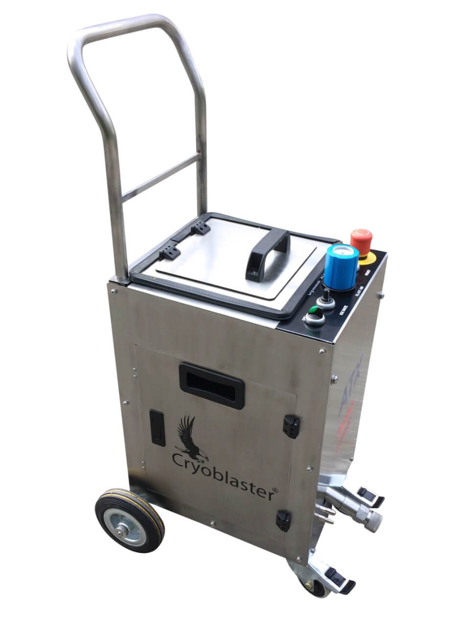 Petite machine de nettoyage cryogénique ATX nano