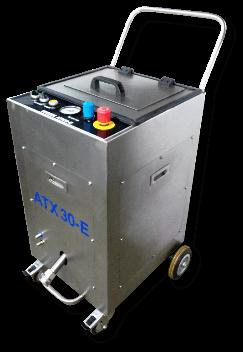 Nettoyeur cryogénique électro-pneumatique