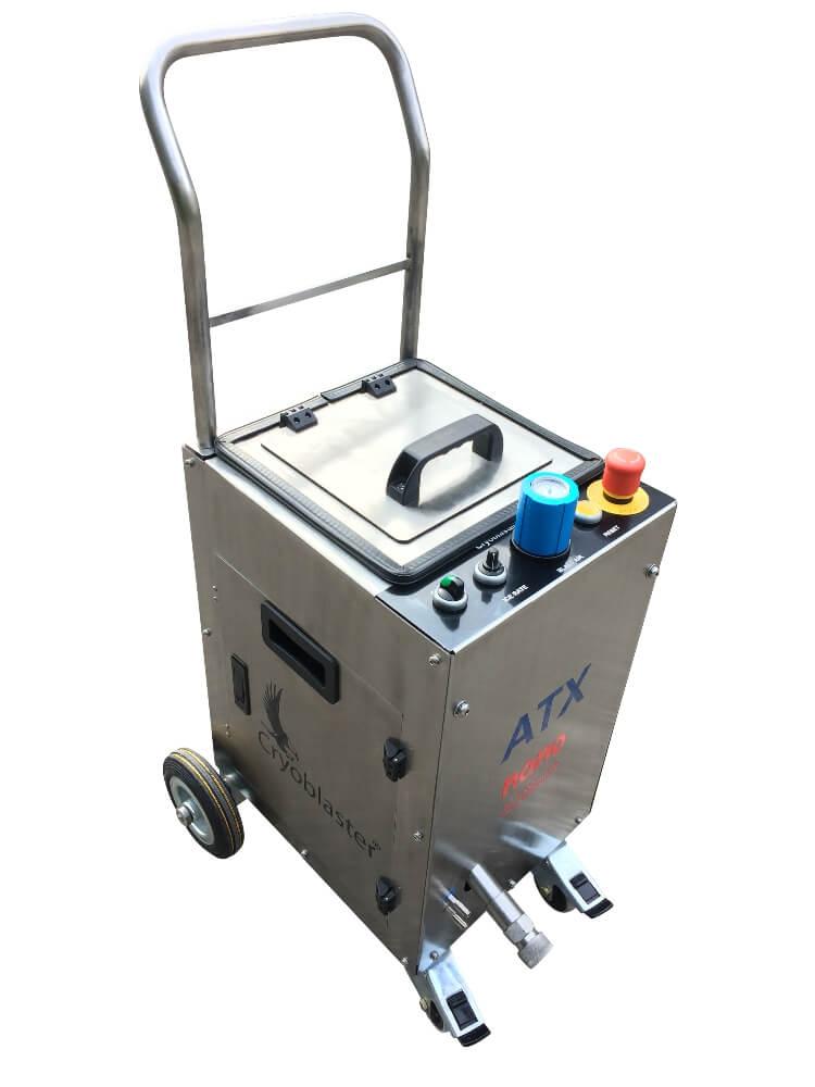 ATX nano - Petite machine de nettoyage cryogénique