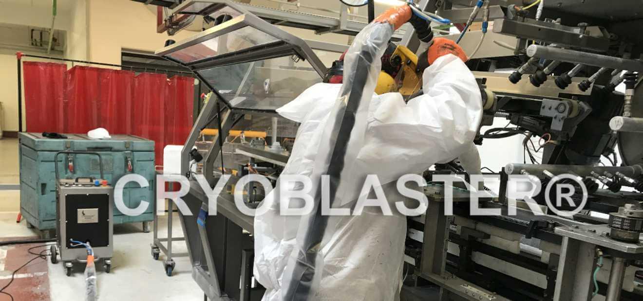 Prestataire de service nettoyage un process agroalimentaire en industrie par cryogénie
