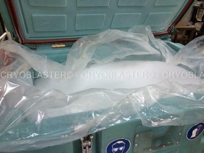 Sac plastique PEBD pour optimiser la qualité de la galce carbonique