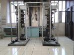 Nettoyage cryogénique sur armoire électrique recouverte de suie