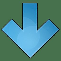 Flêche d'indication de l'annuaire du nettoyage cryogénique