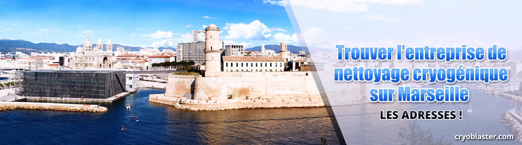 Nettoyage cryogénique sur Marseille