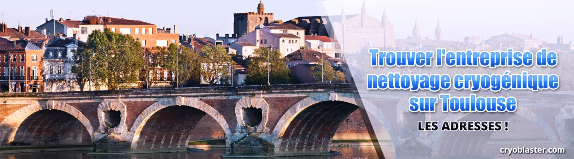 Entreprise nettoyage cryogénique Toulouse