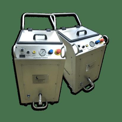Máquina de limpieza criogénica industrial