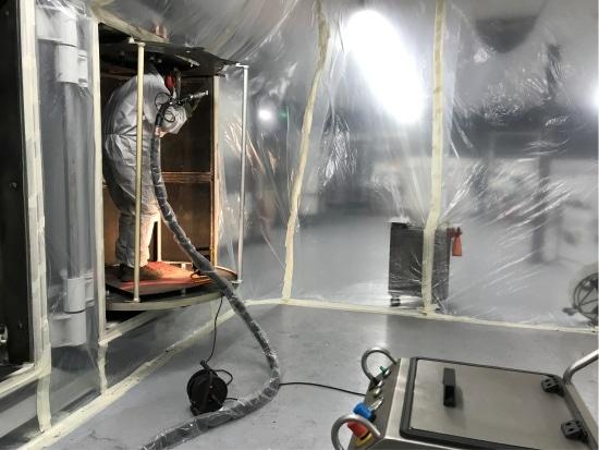 Prestataire nettoyage cryogénique en France du réseau cryoblaster.com
