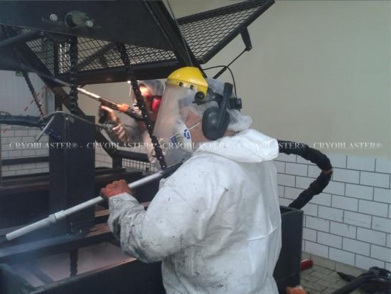 Prestation de nettoyage cryogénique Toulouse