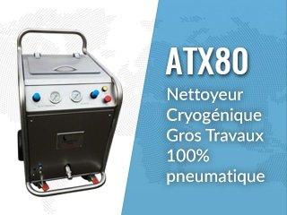 ATX80 : máquina de limpieza criogénica