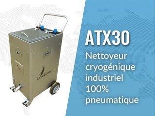 Equipo de limpieza con hielo seco ATX30