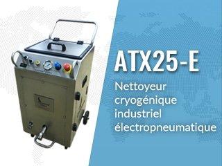 Equipo de limpieza por hielo seco ATX25-E