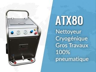 Máquina de limpieza por chorro hielo seco ATX80
