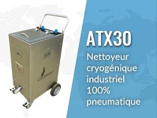 Sableuse glace sèche ATX30