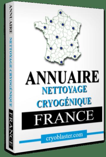 Annuaire des prestataires de nettoyage cryogénique