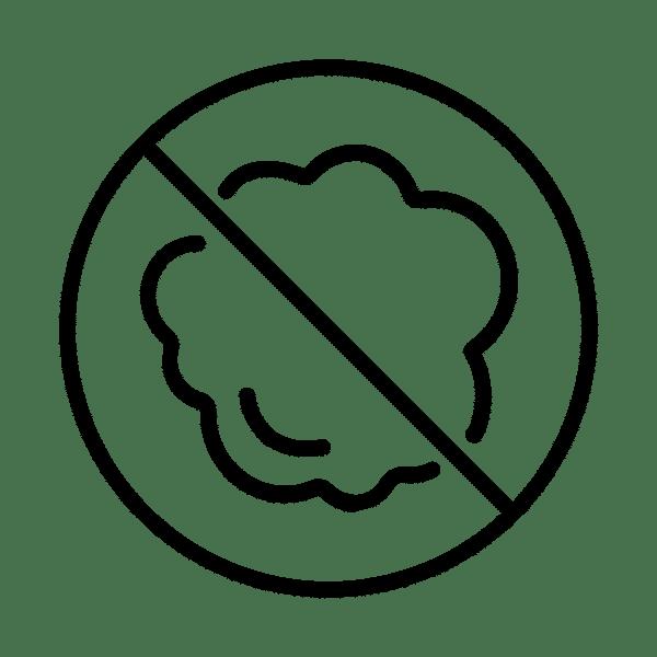 Glace carbonique : pas de trace