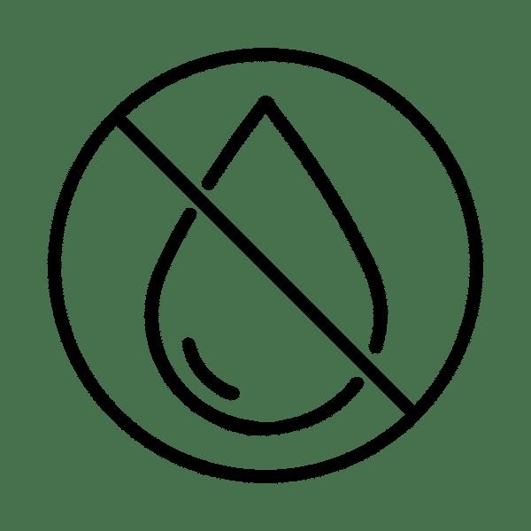Glace sèche : non humide