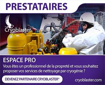 Inscription prestataires nettoyage par cryogénie sur La Rochelle
