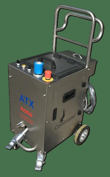 ATX Nano V2 : nettoyeur cryogénique électropneumatique de précision