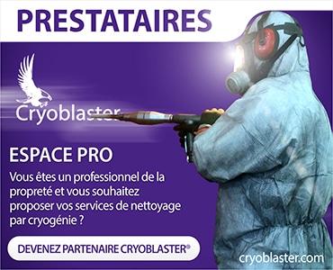 Inscription annuaire nettoyage cryogénique sur Marseille