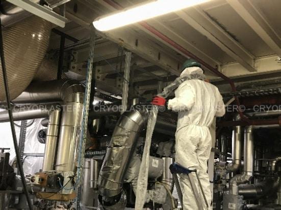 Nettoyage cryogénique sur process fabrication colle en Île-de-France