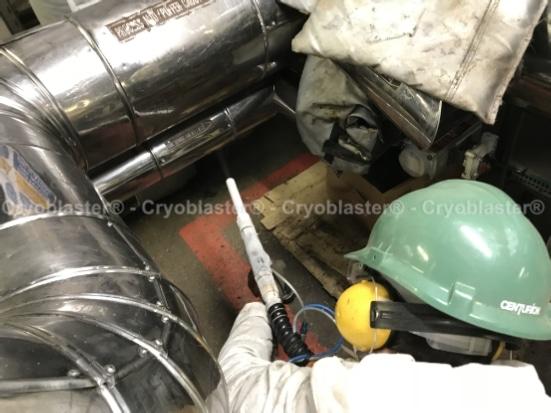 Nettoyage cryogénique tube inox
