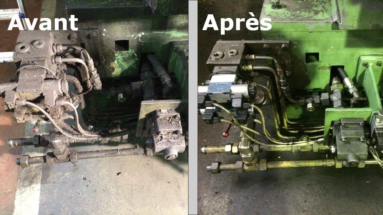 Nettoyage par cryogénie sur Perpignan: scie cuivre