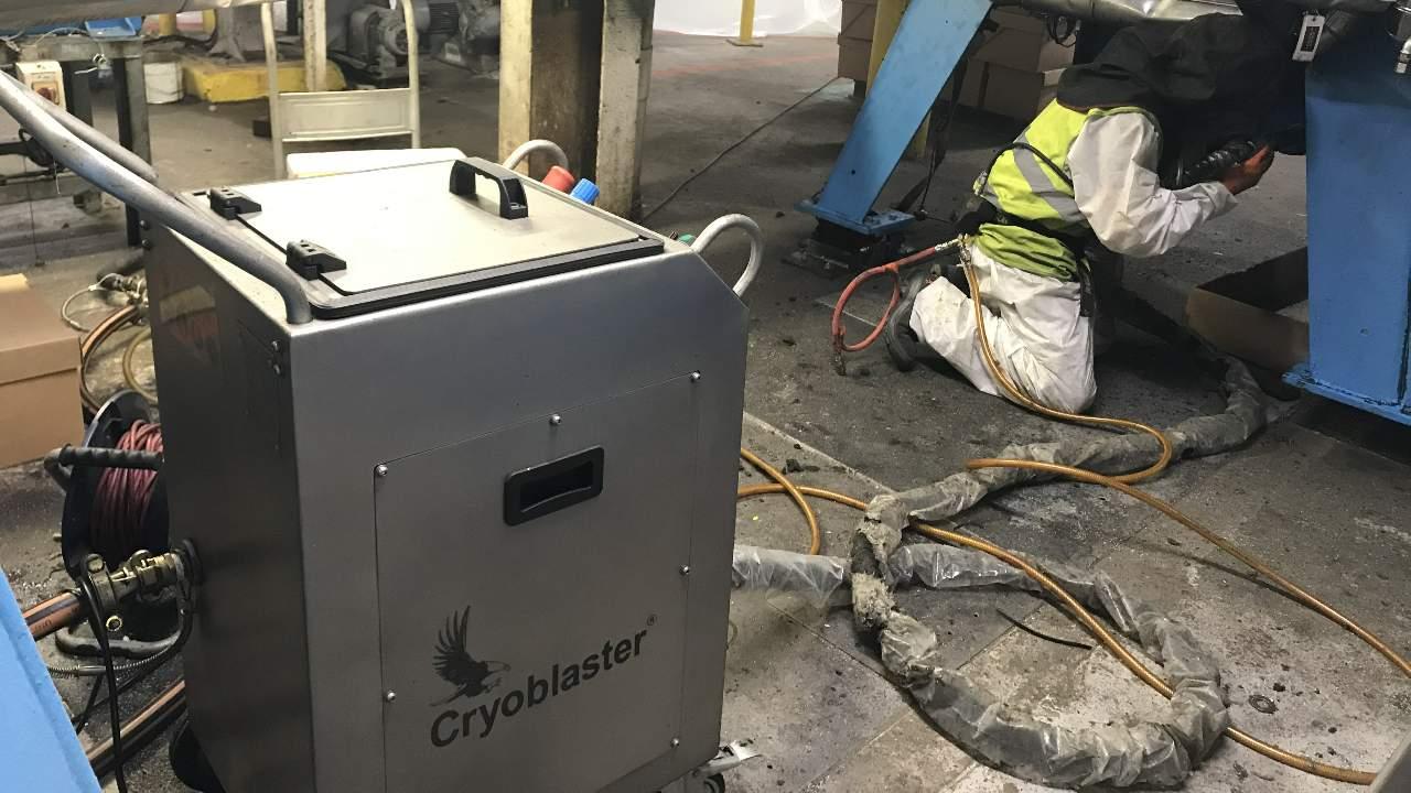 Entreprise de nettoyage cryogénique Toulon et alentours