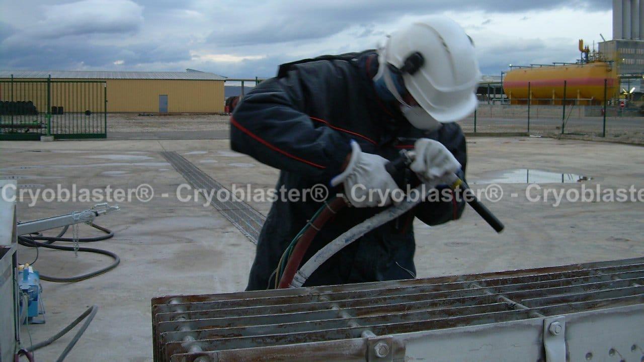 Prestataire de nettoyage cryogénique sur Saint-Etienne