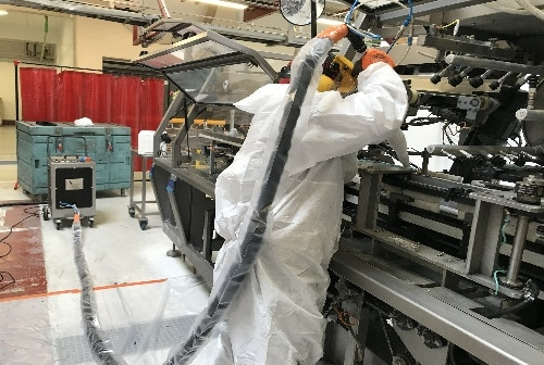 Nettoyage cryogénique agroalimentaire sans produits chimiques