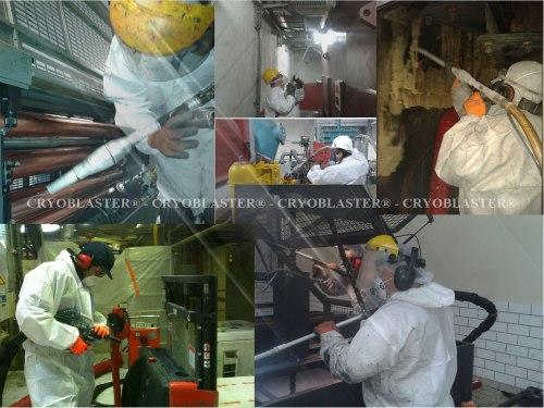 Applications of dry ice blasting