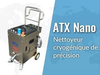 Équipement de nettoyage cryogénique ATX Nano V2