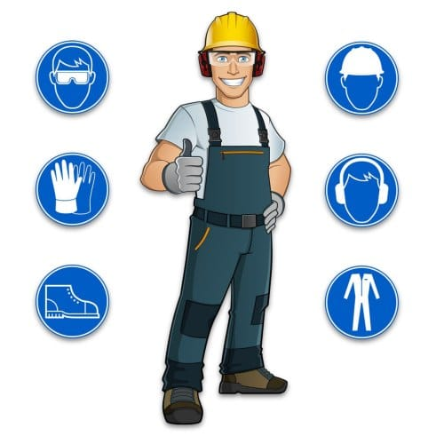 Personal protective equipment for cryogenic cleaning