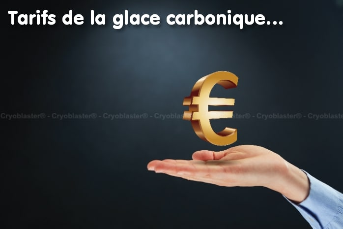 Tarifs de la carboglace ou glace carbonique