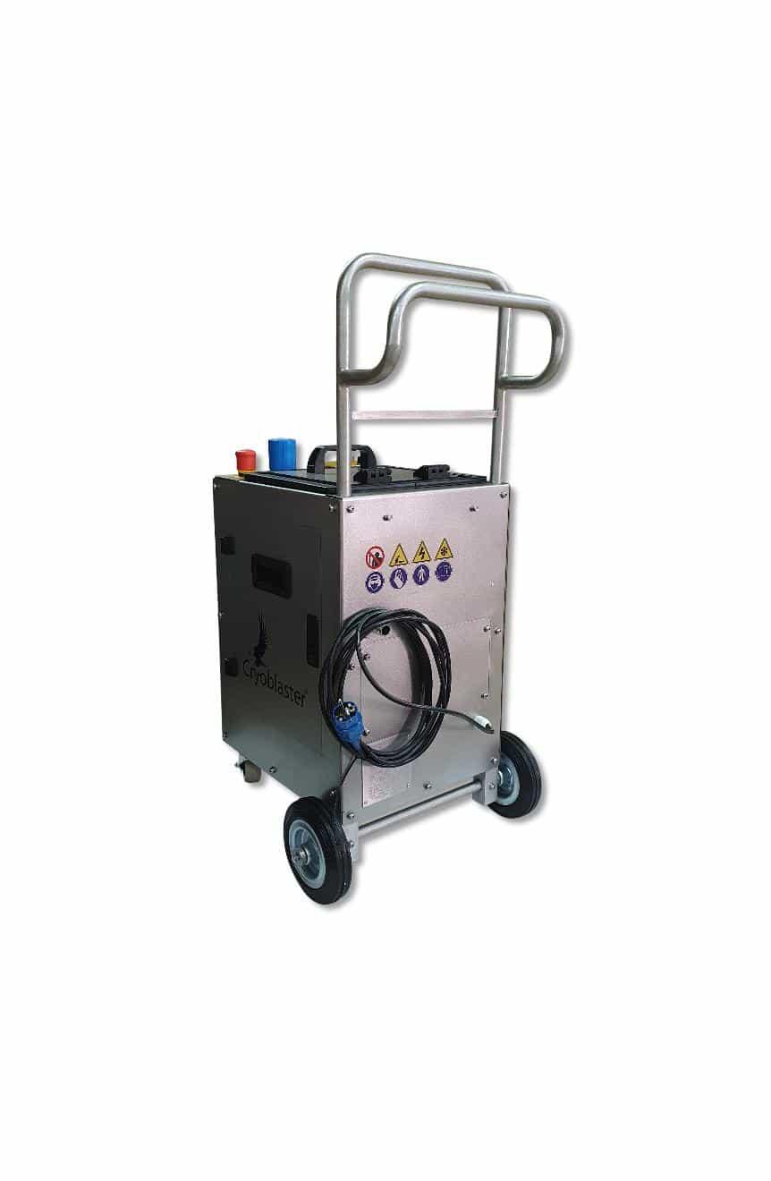 Dry ice blaster atx nano perfect for maintenance