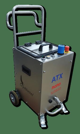 Machine de nettoyage cryogénique de précision
